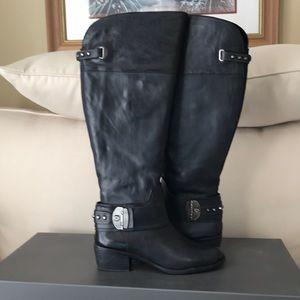 Vince Camuto Beatrix Boots Wide Calf 8.5